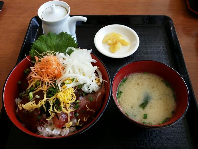 山川漁師飯 at 道の駅山川港活お海道